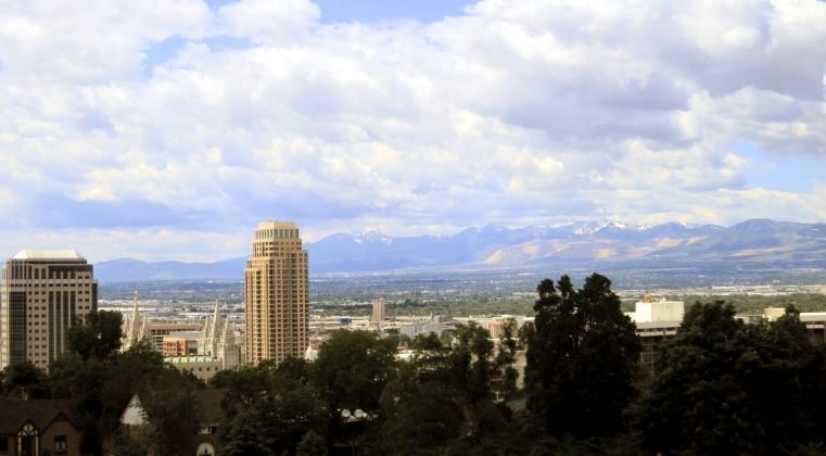utah view from capitol