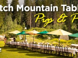 wasatch mountain table pigs n pinot