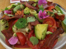 finca ransom wine dinner summer tomato salad