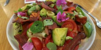 finca ransom wine dinner summer tomato salad