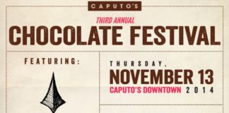 caputos third annual chocolate festival