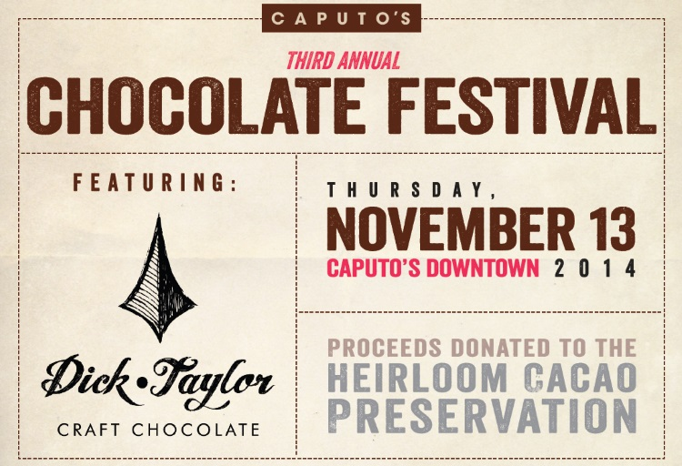 caputos third annual chocolate festival