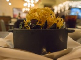 bouchot mussels at annex by epic brewing