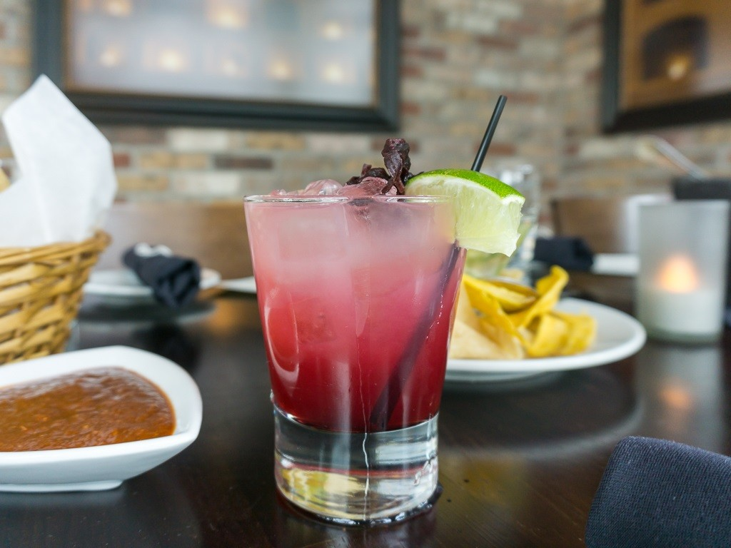 alamexo margarita with hibiscus