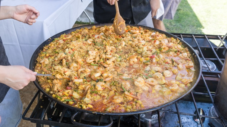 Taste Of The Wasatch 2015 finca paella