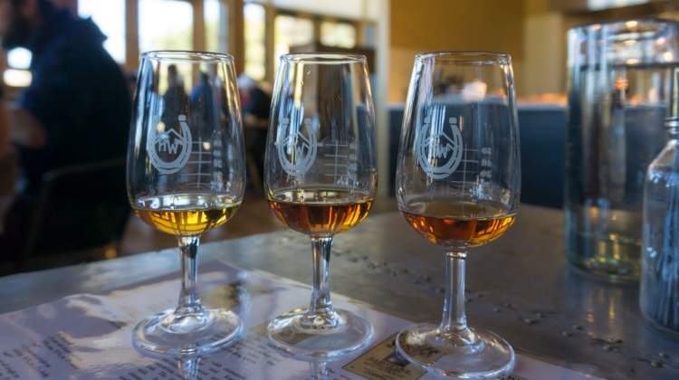 Blue Sky Ranch: High West Distillery, whiskey flight