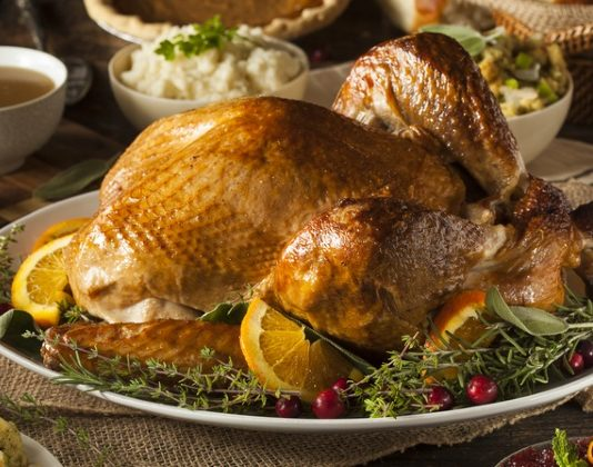 Thanksgiving day dining 2016