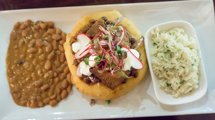 Black Sheep Cafe - brisket fry bread taco