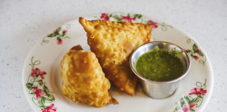 Star Of India - samosa. Credit, Slug Mag and Talyn Sherer