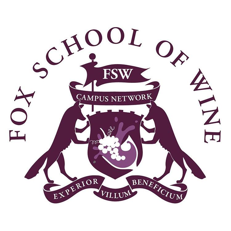 Fox School Of Wine logo