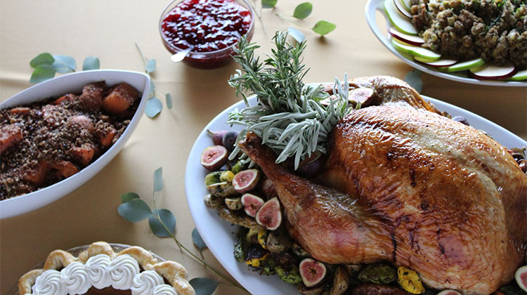 Cuisine Unlimited - full Turkey dinner catered and delivered