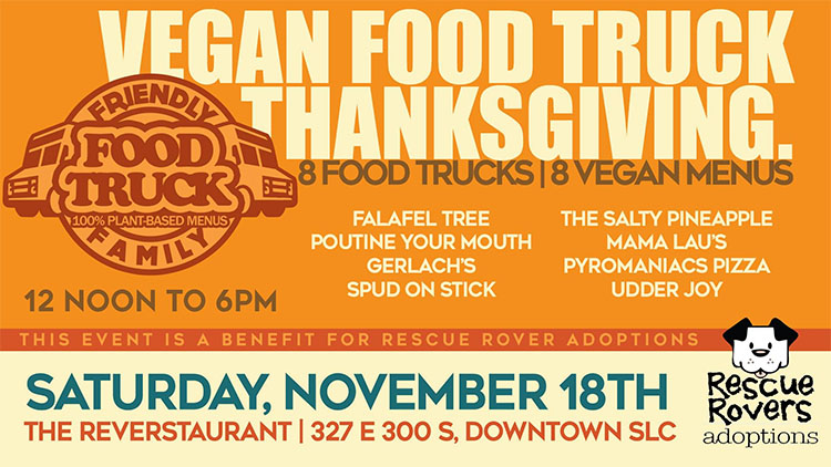 Vegan Food Truck Thanksgiving