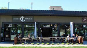 Avenus Proper patio (Avenues)