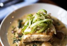 Copper Kitchen - halibut from Spring menu (Copper Kitchen)