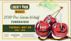 Liberty Park Fundraiser kick off