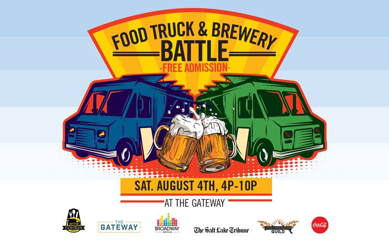 Food Truck And Brewery Battle