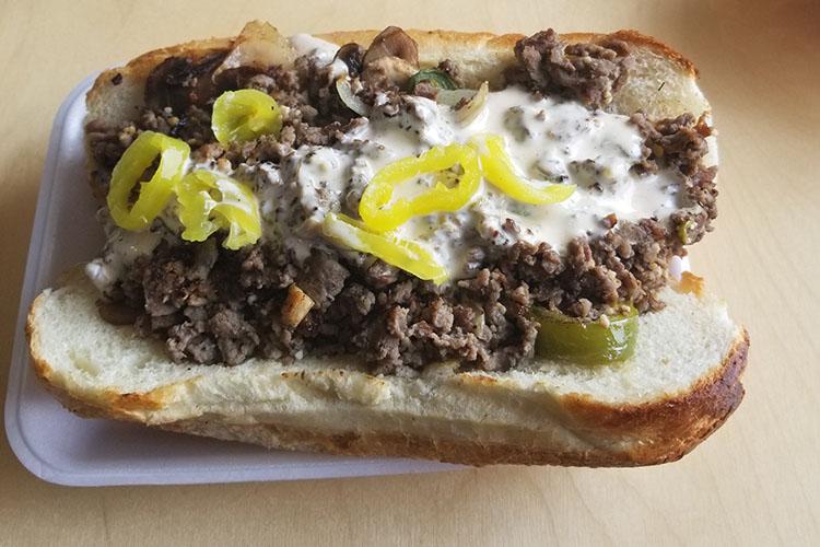 Fatboy Phillies - Philly cheesesteak (Redneck Food Rambles)