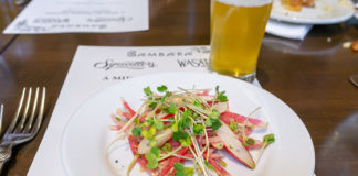 Bambara - Wasatch Summer beer dinner - radish salad