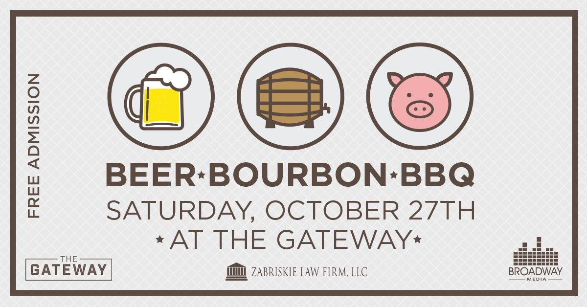 Beer Bourbon and BBQ