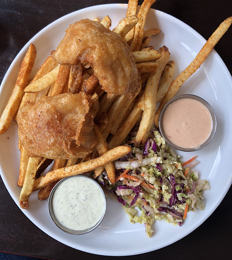 Current Fish And Oyster - fish and chips