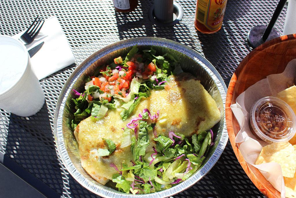 Yoyi's Mexican Grill - burrito (Sara Day)