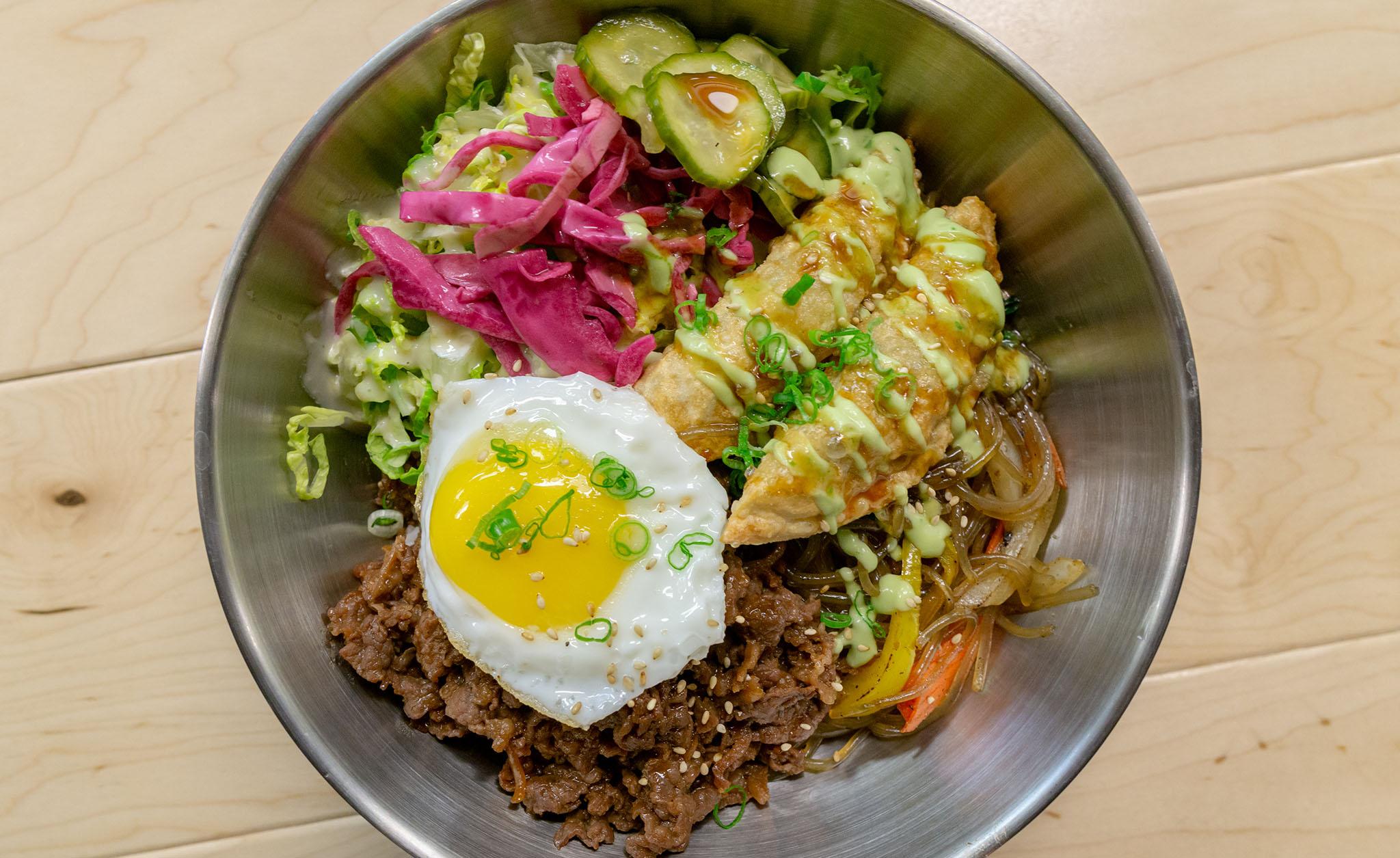 Angry Korean rice bowl header