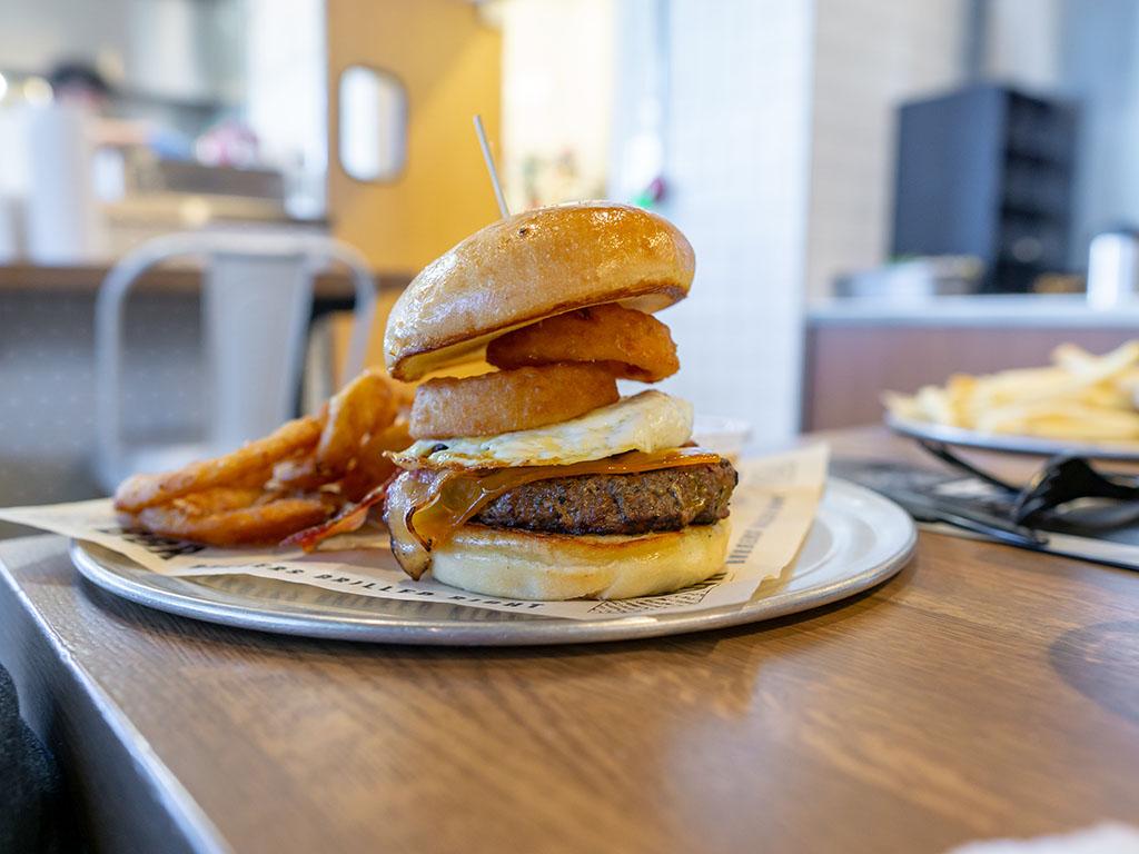 BGR Sugar House - Western BBQ burger