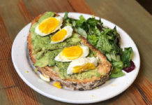 The Rose Establishment - avocado toast (saltplatecity)