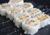 Five Sushi Brothers maki sushi large