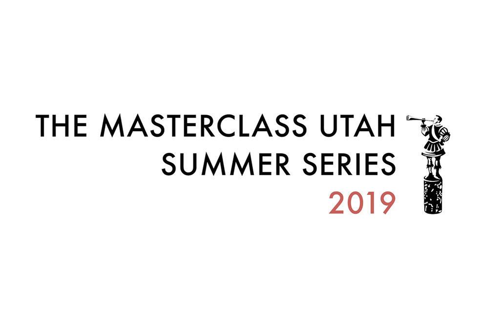 Masterclass Utah 2019 series