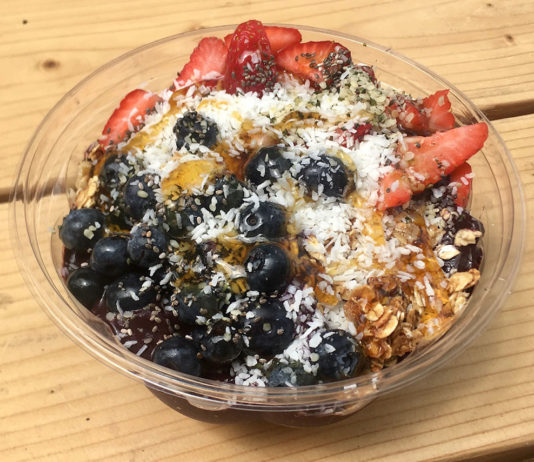Brass Smoothies- Berry Bowl