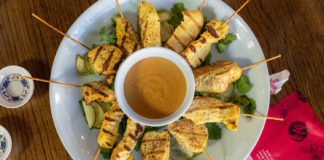 Chicken satay header image