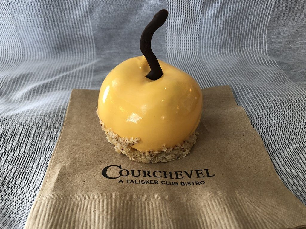 Courchevel - apricot dessert (Talisker Club)
