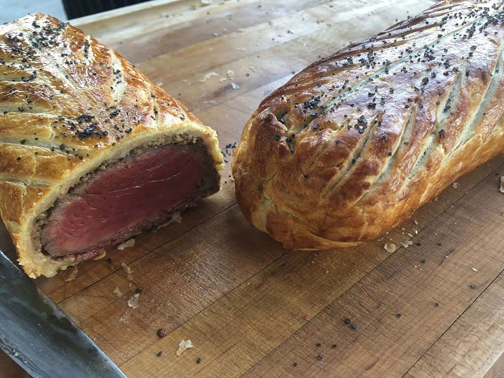 Courchevel - beef wellington (Talisker Club)