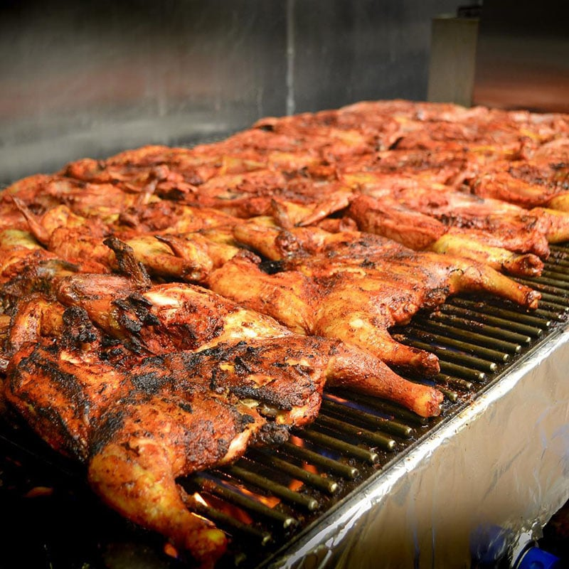Senor Pollos Mexican Grill - chicken on the grill (Senor Pollos Mexican Grill)