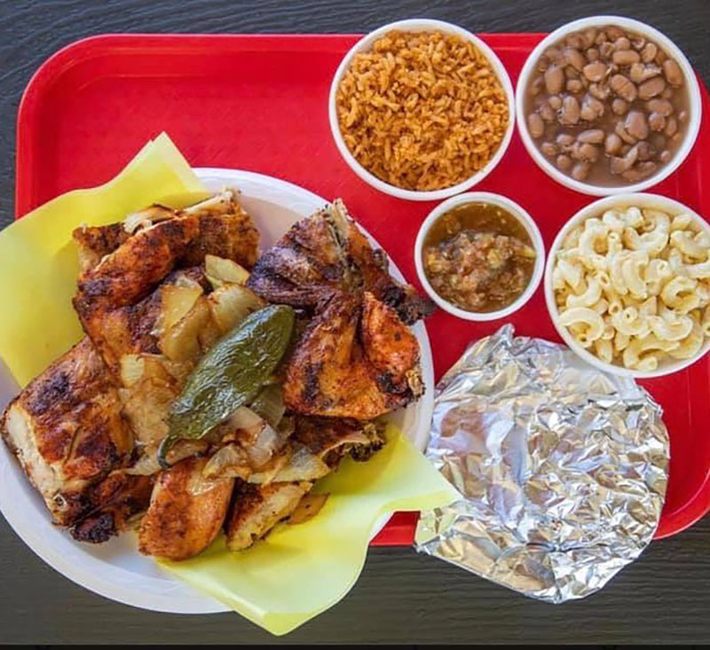 Senor Pollos Mexican Grill - grilled chicken with sides (Senor Pollos Mexican Grill)