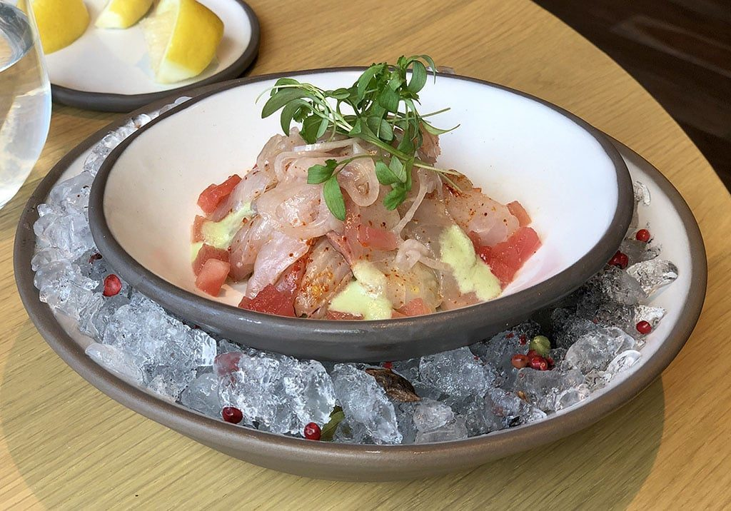 Yuta - kanpachi ceviche (Dishing PC)