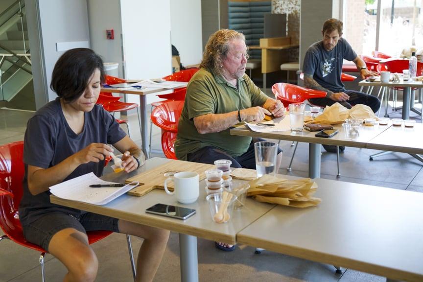 Tosha Rustad, Bill Allred, Nick Fahs (Utah Cheese Awards)