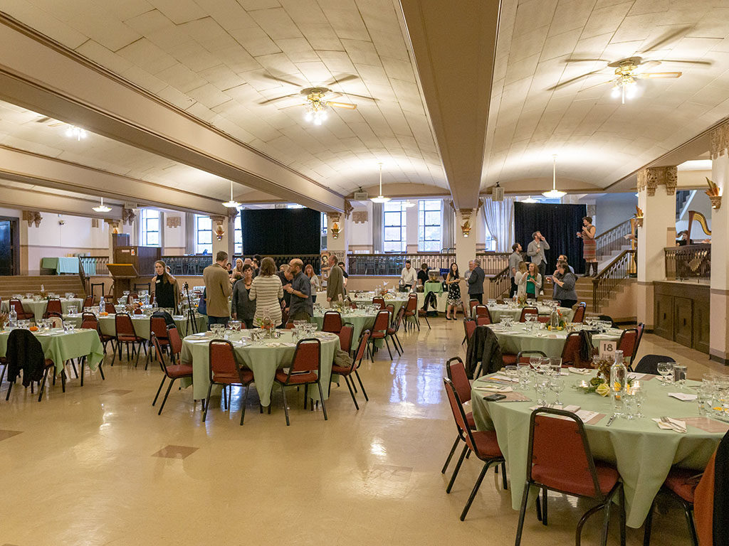 Feast Of The Five Senses 2018 - Masonic Temple dining room