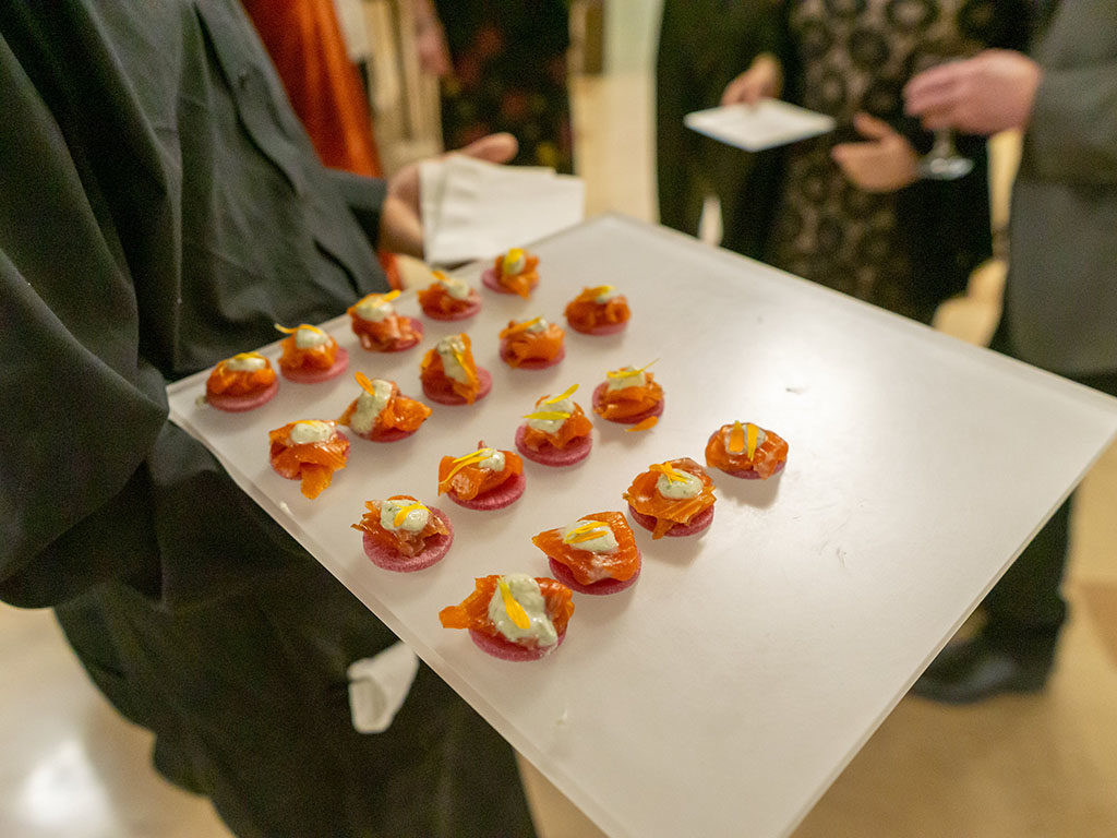 Feast Of The Five Senses 2018 - Tom Grant cured trout