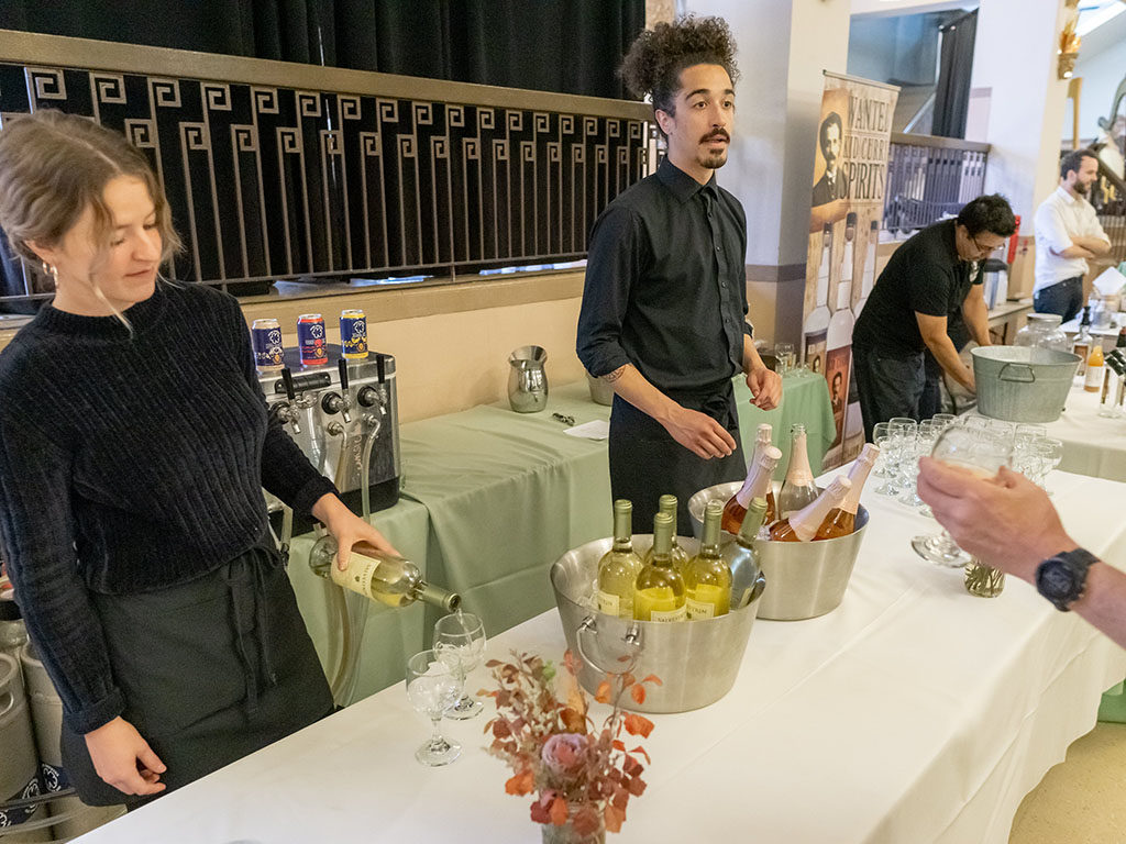 Feast Of The Five Senses 2018 - wine by Libation