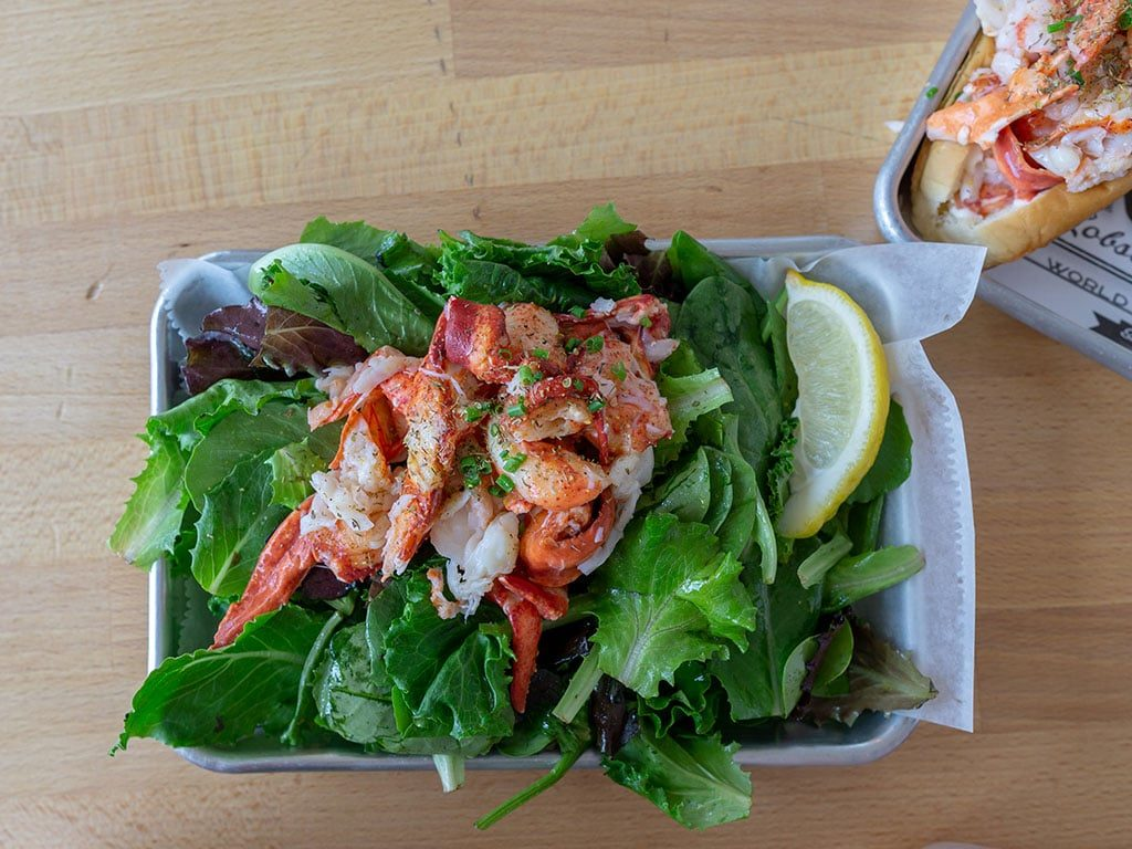 Freshies Lobster - salad