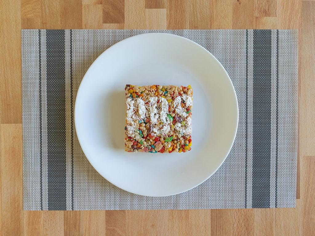 Punch Bowl Social - rice crispy treat