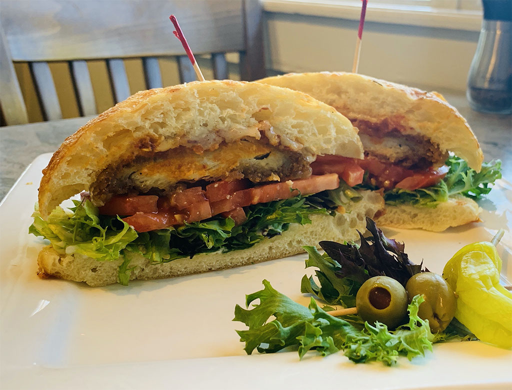 Cucina Deli - fried chicken sandwich