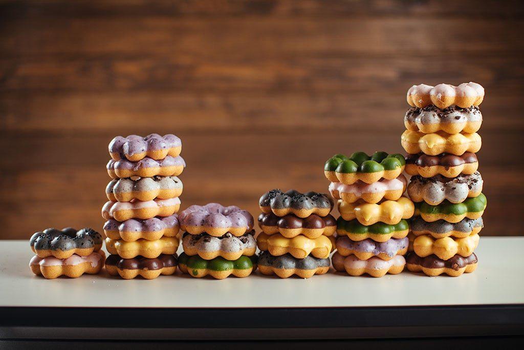 Momi Donuts - mochi donuts (Momi)