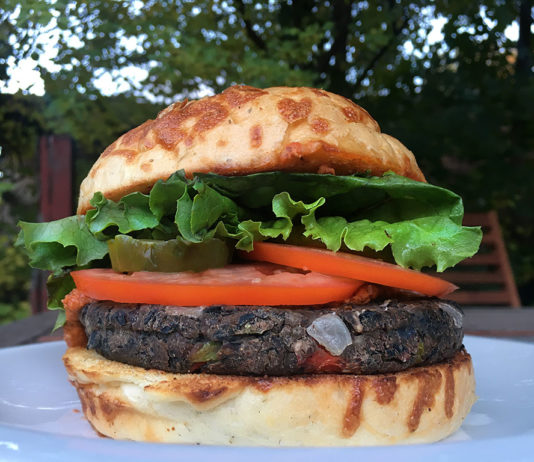 Wasatch Brew Pub - veggie burger