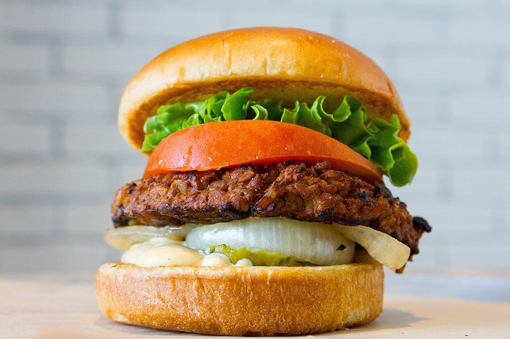 BGR - veggie burger (BGR)