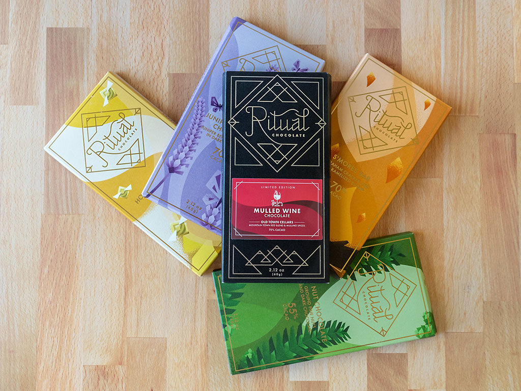Ritual Chocolate - new Fall 2019 creations