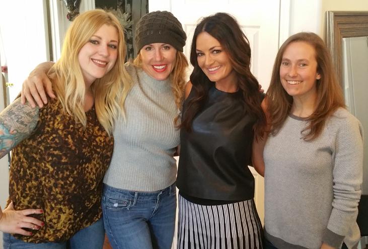 Chelsea Nelson, Liz Galloway, Lisa Barlow, Amy Brownstein (Liz Galloway | The Utah Review)