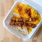 Best Chicken And Ribs - chicken skewer plate